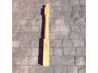Decking post.