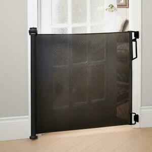 Bily BG370200 Retractable Hardware Mounted Safety Gate - Black (New Others)