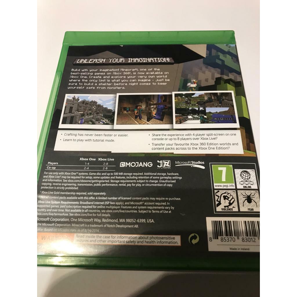 Minecraft Xbox one | in Hucknall, Nottinghamshire | Gumtree