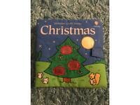 Christmas cloth book