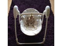 Used baby travel swing FOR SALE