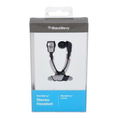 BlackBerry Premium Stereo Headset in schwarz (Blackberry Headsets)