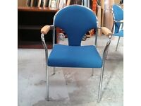 Nowy styl collection chair in blue