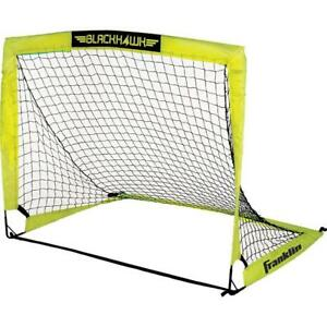 NEW Franklin Sports Blackhawk Portable Soccer Goal, Small