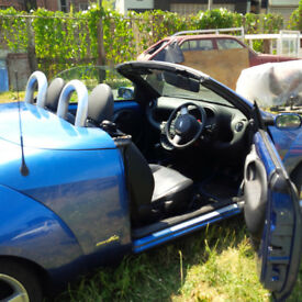 Ford KA Softop 1.6 Metalic Blue