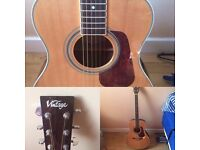 £60, 25% off , Vintage Acoustic Guitar, excellent conditions, very nice sound, negotiable