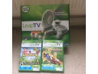 Leap TV & 2 Games
