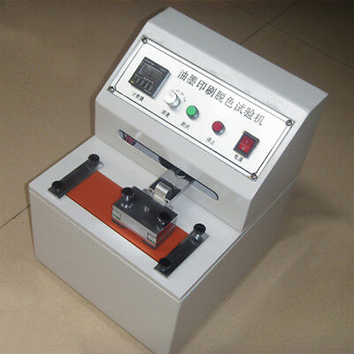 Mil 110v Printing Ink Durability Tester Abraser Friction Testing Machine New