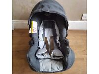 Pushchair, car seat, carrying case
