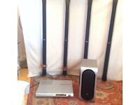 LG Home Surround Sound System - 6x Vertical Speakers + Subwoofer and CD/DVD Player