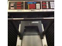 Life fitness running machine