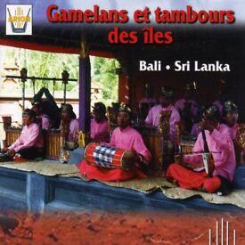 Various Gamelan CDs, incl. Gamelans Et Tambours Des Iles Bali Sri Lanka. Other world music as well.
