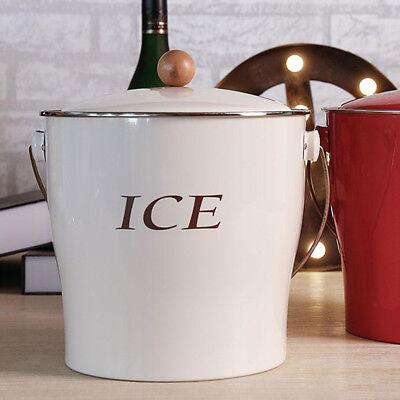 Doppelwand Eisbehälter Eisen Eiswürfel-Kühler Eimer für Bar, Party