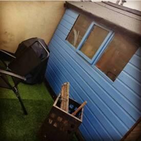 Large 6x8 shed