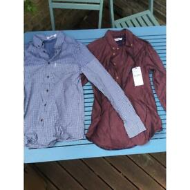 Ben Sherman shirts - 2 for £15 - size SMALL - BNWT - excellent condition