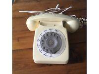 GPO 706L Ivory Bakelite Telephone