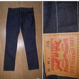 Original Levi men's Jeans Black W34 L32