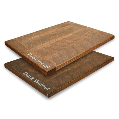 """New 24"""" Square Urban Distressed Wood Table Top in Provincial Finish"""