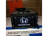 Honda Cars Full European Map Igo 8 Gps Full Hd Model /Dvd/Gps//AUX/USB/SD/ Built-in Bluetooth
