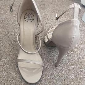 Missguided 3strap shoes