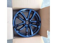 Seat Leon FR Black Alloy Wheel (Ronal)
