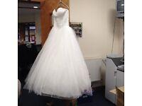 Beautifil White Wedding Dress