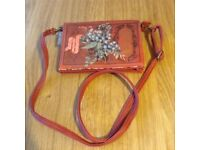 LADIES SMALL SHOULDER BAG MADE BY DISASTER DESIGNS