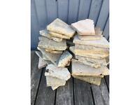 FREE Broken patio slabs