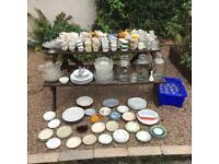 Vintage wedding / tea party / China / tableware