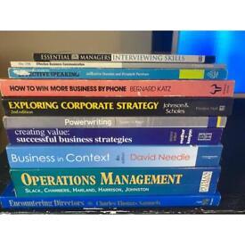 10 Business books/textbooks