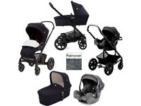 Joie Premium Travel System + Carrycot + Push Chair + Car Seat ***RRP £950***