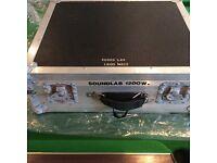 Sound lab G742 1200 watt Powered Mixer