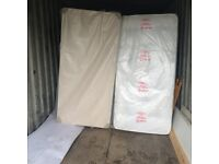 brand new single and double divan beds