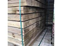 Wooden/ Timber Tanalised Fencing Panels/ Pieces/ Boards * Various Sizes 🌳