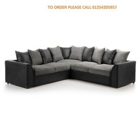 BRAND NEW BYRON LARGE CORNER SOFA OR SOFA BED ON SPECIAL OFFER