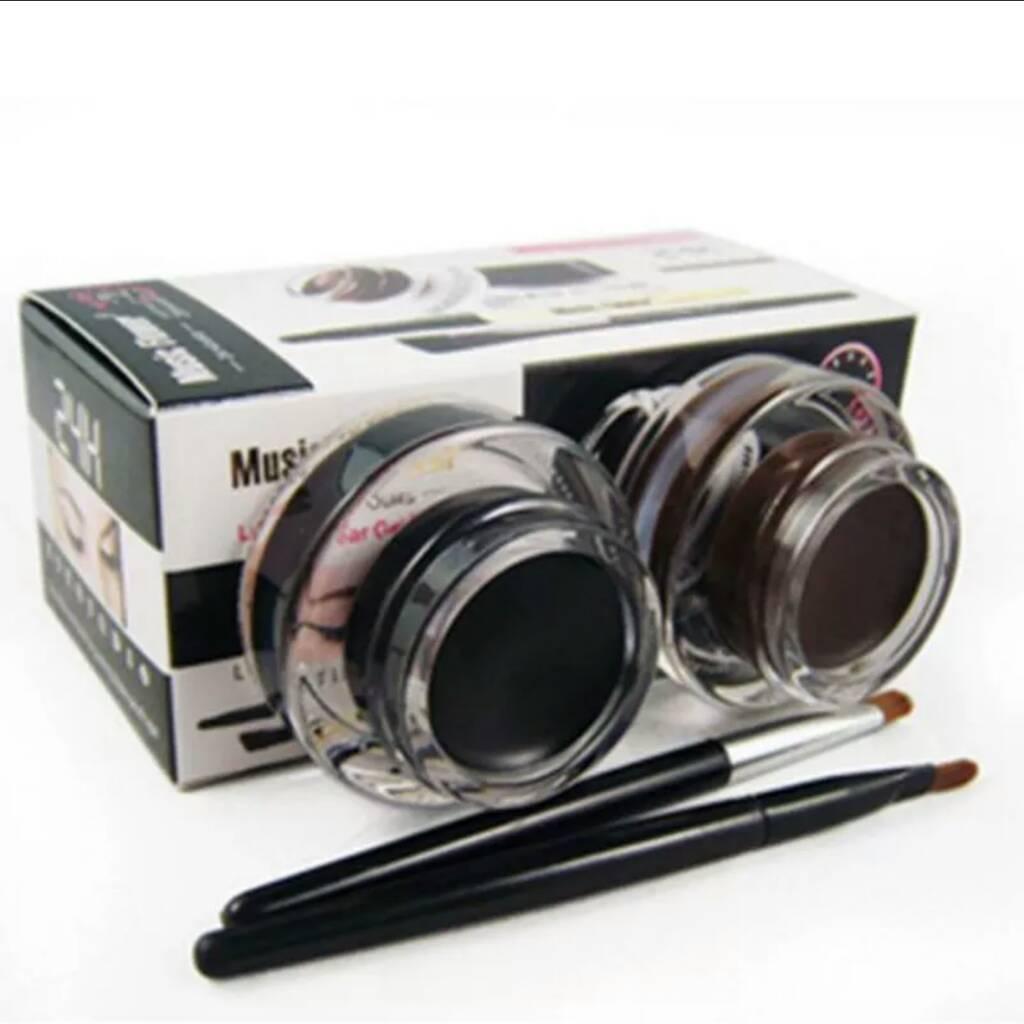 Black & Brown Gel Eyeliner
