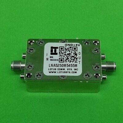 Low Noise Amplifier 0.85db Nf 5250m-5455mhz 39db Gain 19dbm P1db - 2 Stage