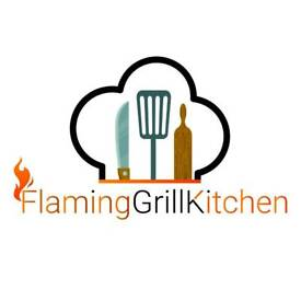 Flaming grill kitchen
