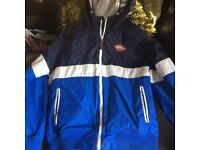 Mens St Georges Duffer Jacket with Hood size Large