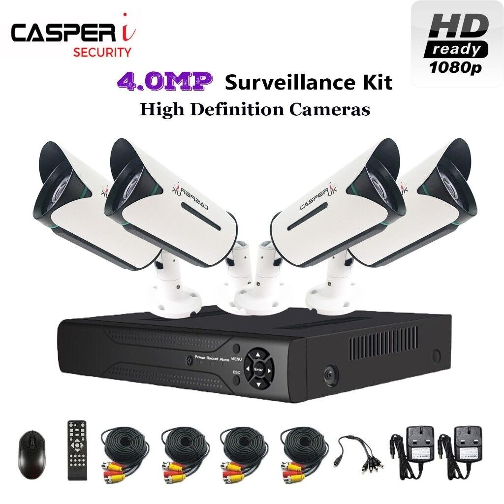 HD 4CH DVR 5 IN 1 Kit with