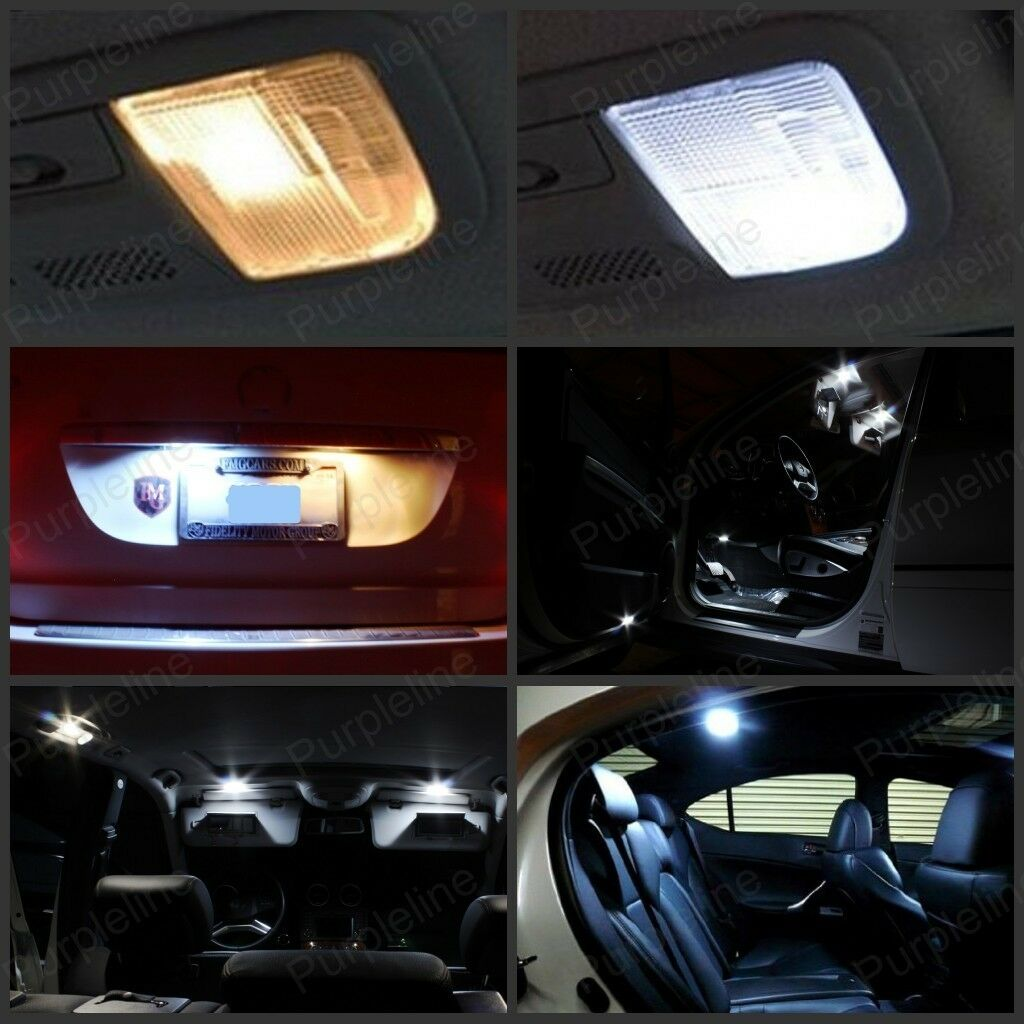 11 x xenon white led interior light package for 2004 2008 ford f 150 f150 picclick 2007 ford f 150 interior lights