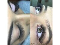 Professional eyelash extensions £25