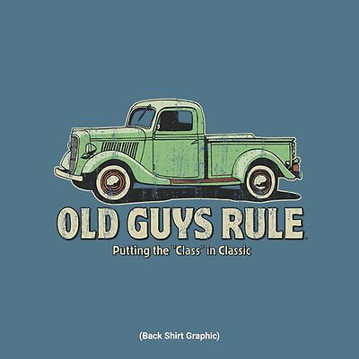 OLD GUYS RULE OLD TRUCK PUTTING THE