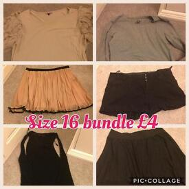 SOLD Ladies size 16 bundle