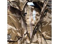 New smock combat windproof desert jacket. size 180/96. never been worn. £14