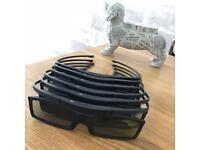 Samsung 3D glasses set of 6