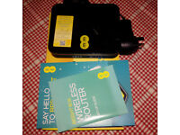 EE Bright Box Wireless Router boxed with Ethernet cable