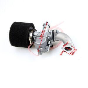 Mikuni VM22 Carburetor 26mm Carb+38mm Air Filter Intake 110 125 140 cc Pit BIKE