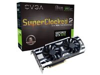 2x EVGA Geforce 1070 GTX SC2 graphics cards (unwanted gift)