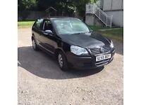 2005 VW polo in black 1.2 petrol